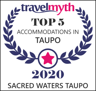 Travelmyth award - Top 5 hotels in Taupo