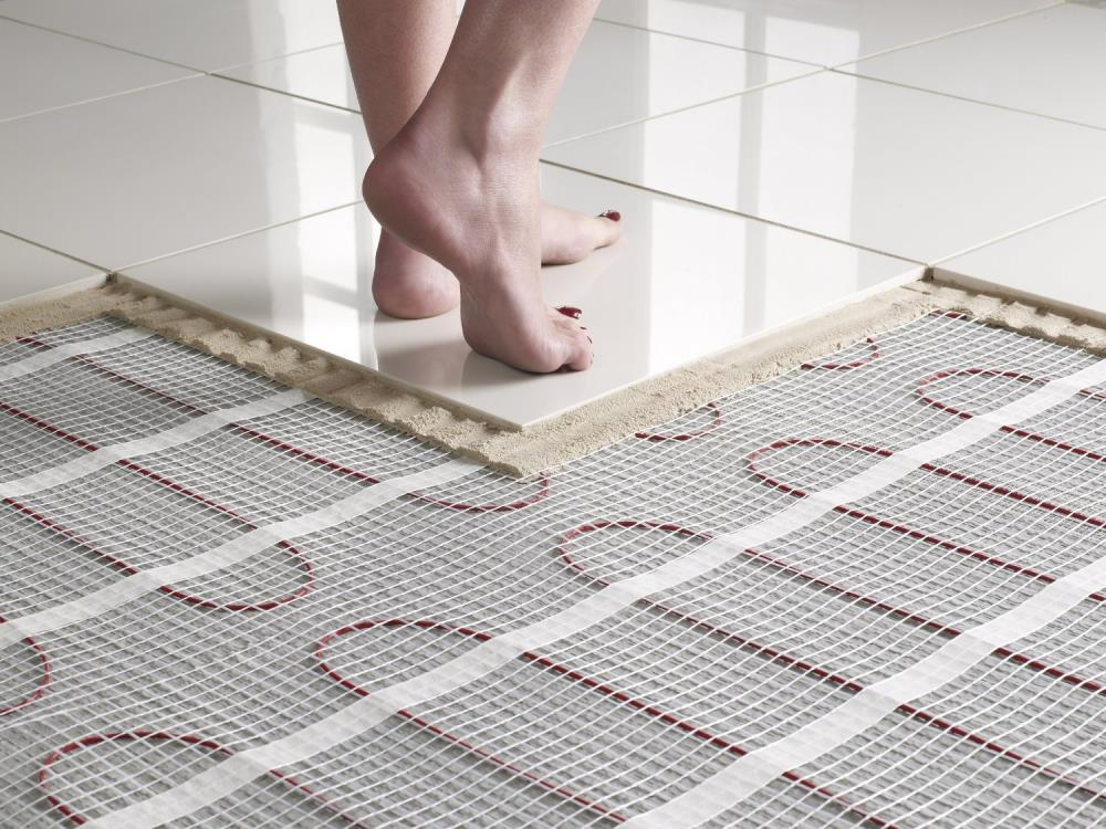 Under floor thermal heating